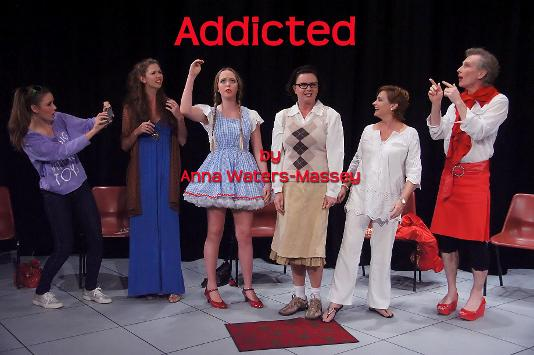 Cast of the Gold Coast Little Theatre Production of Addicted 2011